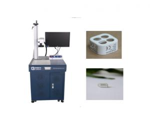 China Red Laser Pointer Fiber Laser Marking Machine to mark on Gold Board / Silver Board and other metal on sale