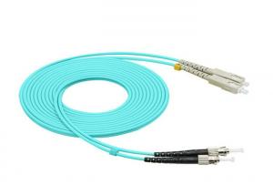 China SC To ST Fiber Patch Cable Om3 Multimode Fiber Optic Cable For Local Area Network on sale
