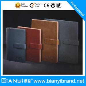 China PU/Leather cover notebook, loose-leaf, six keys binders, with pocket for cards and pen on sale
