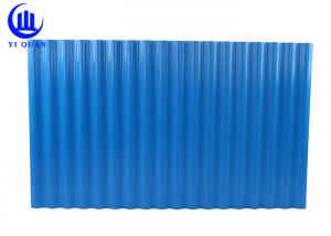 China Good Heat Insulation PVC Roof Tiles For Chicken Farm Cow Farm Roof Top on sale