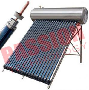 China Solar Heat Pipe Water Heater For Shower on sale