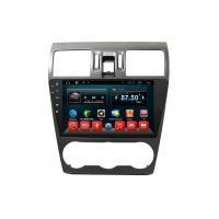 Double Din Radio Multimedia Vehicle Navigation System Subaru Forester 2014 2015 2016