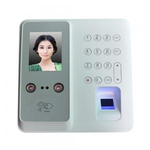 China Biometric time recording face reader fingerprint recognition attendance machine on sale