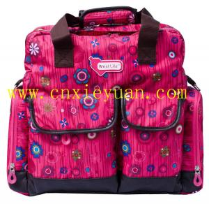 China Large Capacity multifunctional mother baby diaper bags handbags on sale