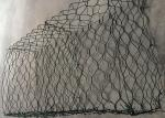 Plastic Coated Hexagonal Weaving Rock Gabion Baskets For Retaining Wall