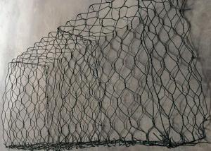 China Plastic Coated Hexagonal Weaving Rock Gabion Baskets For Retaining Wall on sale