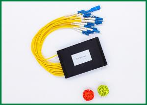 China 1x16 Passive Fibre Optic Cable Splitter ABS Box Module For EPON / GPON , GR-1209 Standard on sale