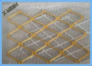 China Heavy Duty Diamond Expanded Metal Mesh Decorative Aluminum Spray Paint 4 x 8 on sale