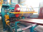 China Rock Wool / EPS Sandwich Panel Production Line , Sheet Metal Roll Forming Machines wholesale