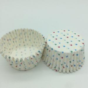 China Eco Friendly Greaseproof Cupcake Liners Disposable Food Packaging Bakery Birthday Cakes For Girls on sale
