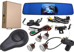 China Car Auto Brake Front And Rear Parking Sensor Kit With Car High Definition Camera on sale