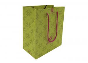 China Handmade Kraft Paper Shopping Bags With Handles, Paper Gift Bags on sale