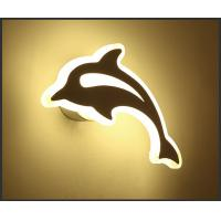 dolphin economic price Acrylic LED wall light /indoor led wall lamp for zoo
