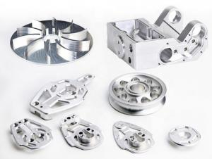 China Aluminum Cnc Milling Machine Parts And Components For Electronics Industry on sale