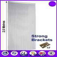 Flexible living room partition wall chain link curtain