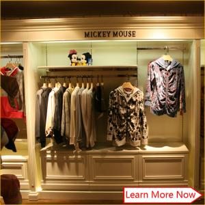 Quality Clothing Garment Shop Interior Design And Furniture Display For Store