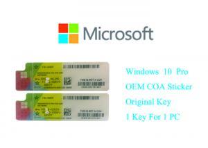 China Microsoft windows 10 original product key 100% Original Online Activate Multi Language on sale