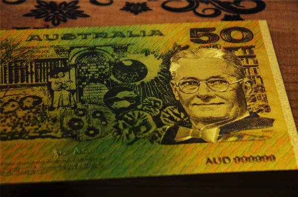 Value Collectible Old AUD 50 Dollar Banknote, Special