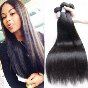China Unprocessed Straight Hair Peruvian Human Hair Weave 10-34Available on sale