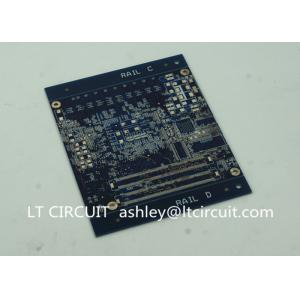 China Blind Vias Burried Vias Multilayer PCB Vias In Pad Heavy Gold Plating on sale