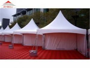 China Alumnium Alloy Garden Pagoda Tent For Temporary Warehouse Anti - Fungus on sale