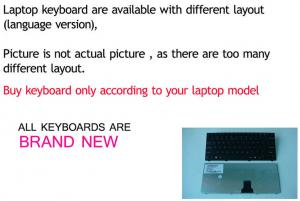 China Laptop keyboard Made in China for dell laptop internal keyboard for inspiron 6400 on sale