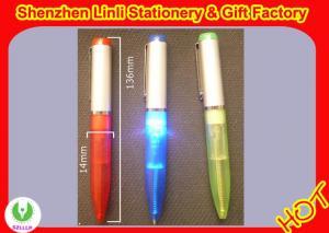 China Promotional foldable LED gift light Flashlight pens various design on sale
