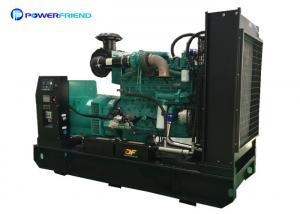 China 220kw Industrial Genset Open Type Cummins Diesel Generators 220v - 690v optional on sale