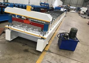 China 3.8t Metal Roof Machine With Plc Frequency Conversion Control System on sale