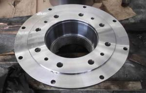 China Gear Carbon Steel Forged Steel Flanges / DN400 Welding Neck Flanges For Metallurgy on sale
