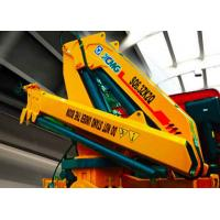 China Fast and Effective  Hydraulic Truck Mounted Crane For Transporting Materials , 11meters Lifting Height on sale