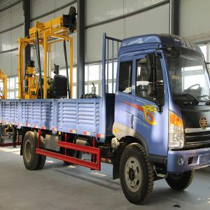 China Truck-mounted drilling machine with good quality on sale