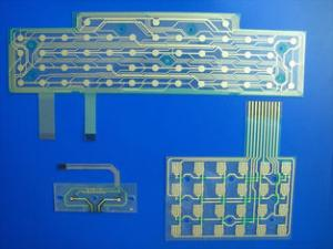 China Keyboard Printed Circuit Flexible PCB Board Custom With Metal Dome / LED on sale