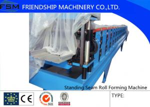 China Galvanized Steel Sheet 15m/Min Roll Forming Machines With Hydraulic Station on sale