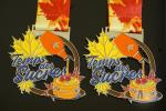 Virtual Racing Or Running 10K Metal Award Medals 864*32mm Sublimated Ribbon Both Side