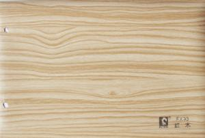 China Kitchen Cabinet Wood Grain Adhesive Film , Self Adhesive PVC Decorative Film on sale