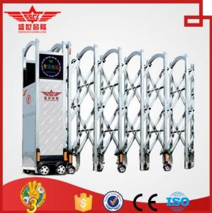 China Gate automation electric door steel pipe gate design steel garden gate-J1431 on sale