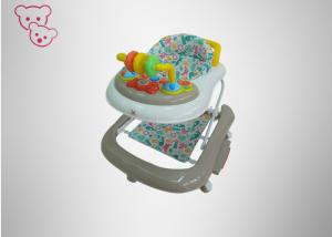 China Adjustable Height Baby Walker , Toddler Activity Walker Detachable Wheels on sale