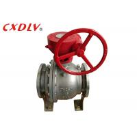 DN150 6 Inch 2PC Trunnion Ball Valve CF8M Stainless Steel Split Body Price