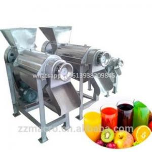 China industrial fruit juicer machine food processing machinery tomato juice on sale