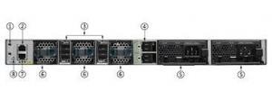 China PoE 715W Cisco Gigabit Network Switch IOS Image 480 Gbps Stack Bandwidth on sale