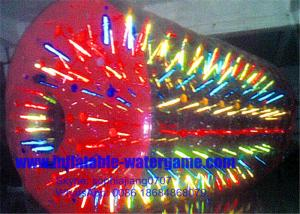 China Inflatable Water Roller Zorbing Balls For Hire , Roll Inside Inflatable Ball on sale