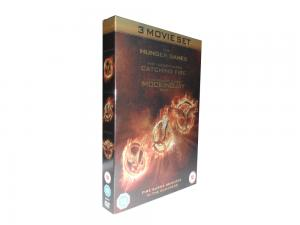 China hot sale 3 Movie dvd boxset The Hunger Games 1-3   3dvds  UK version new release on sale