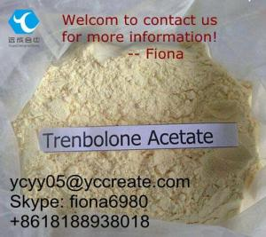 China Anabolic Steroid Powder Trenbolone Acetate CAS 16103-34-9 For Muscle Growth and Weight Loss on sale