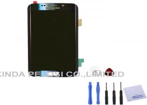 China White Blue  S6 LCD Screen Digitizer Assembly 2560 X 1440 Pixel on sale