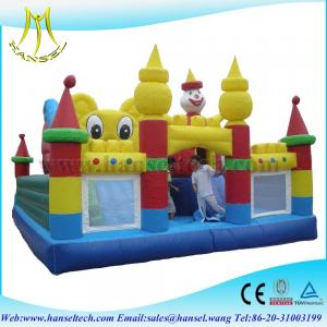 China Hansel Animal Kingdom toddler inflatable funny extreme amusement park on sale