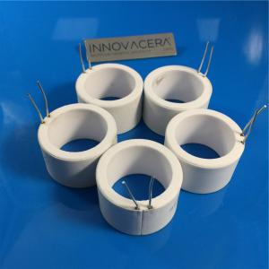 China High Purity Electrical Alumina Ceramic Heater Tube For Iron Soldering on sale