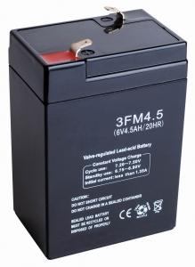 China Le support a scellé les batteries d'acide de plomb de l'éclairage de secours 6v 4ah FM (3FM4A, 3FM4E, 3FM4B) on sale
