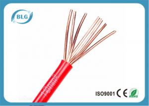 China BVR Single Strand Insulated Insulated Copper Wire For House Wiring 1.5mm 2.5mm on sale
