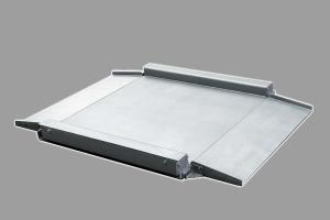 China 300kg~1500kg Stainless Steel Low Profile Floor Scale With 35mm-45mm Height on sale